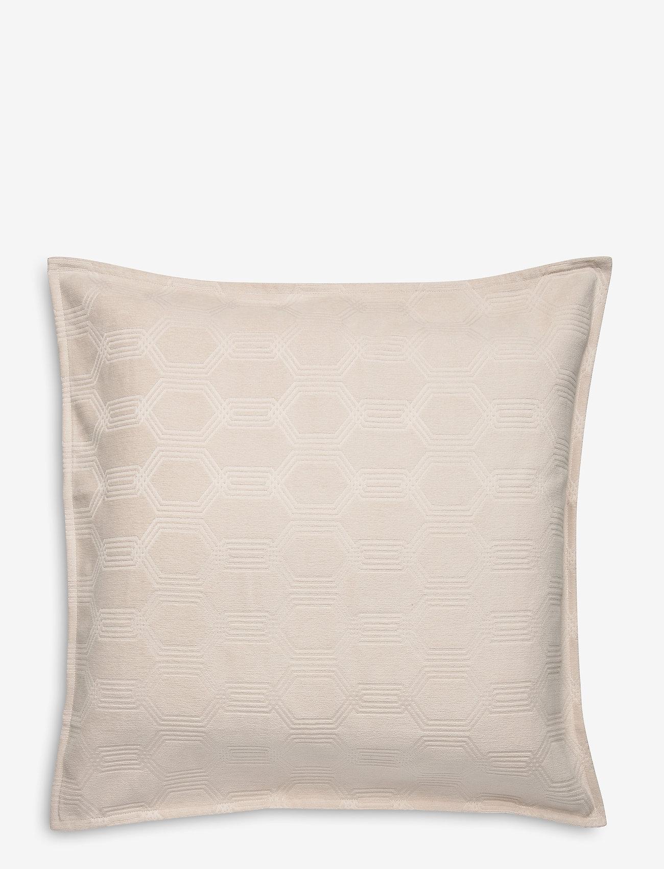 Lexington Home - Jacquard Cotton Velvet Pillow Cover 65x65cm - poszewki na poduszki ozdobne - off white - 0