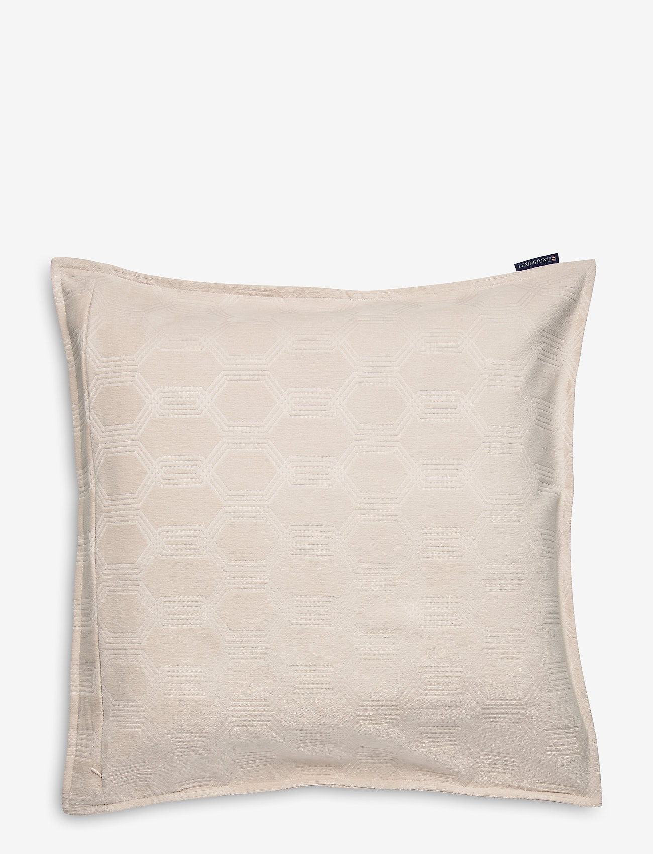 Lexington Home - Jacquard Cotton Velvet Pillow Cover 65x65cm - tyynyliinat - off white - 1