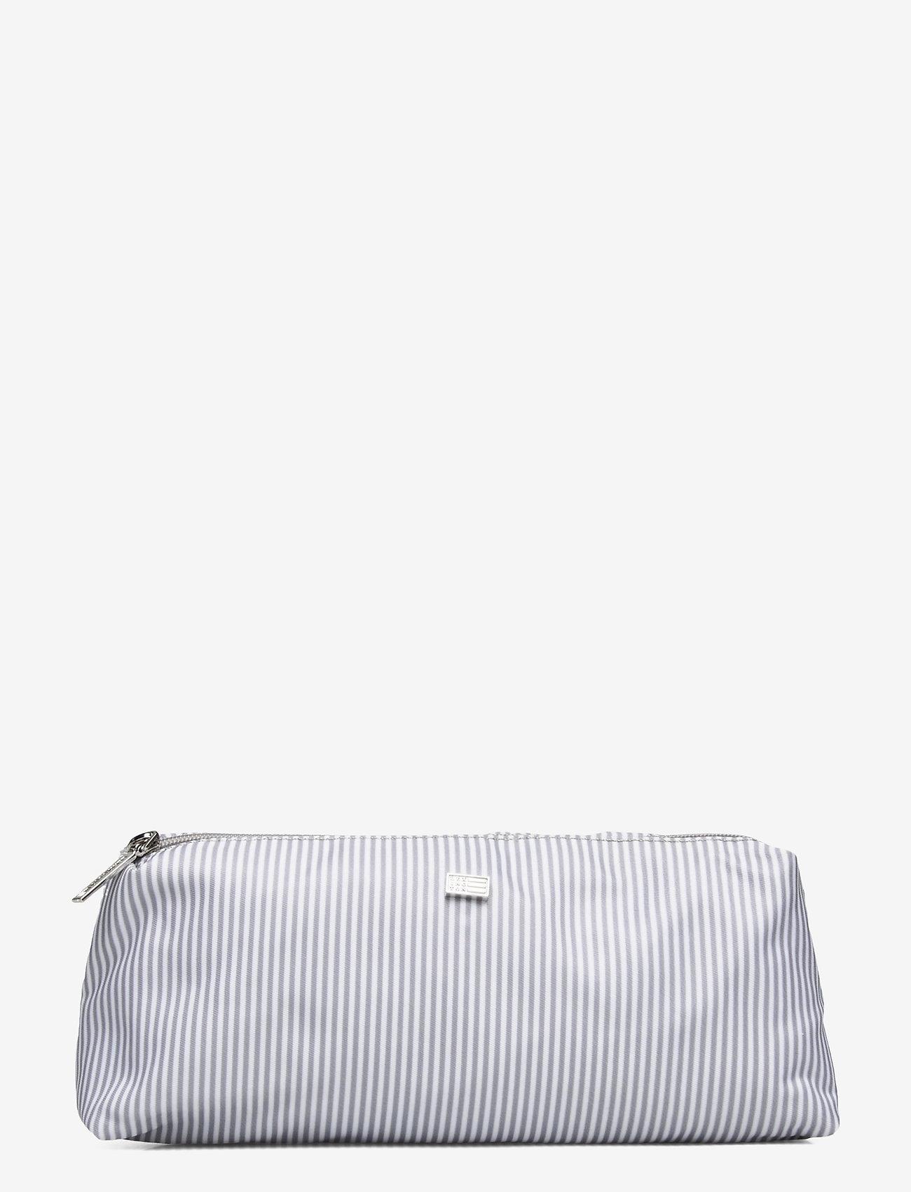 Lexington Home - Icons Small Toilet Bag - meikkilaukut - gray/white stripe - 0