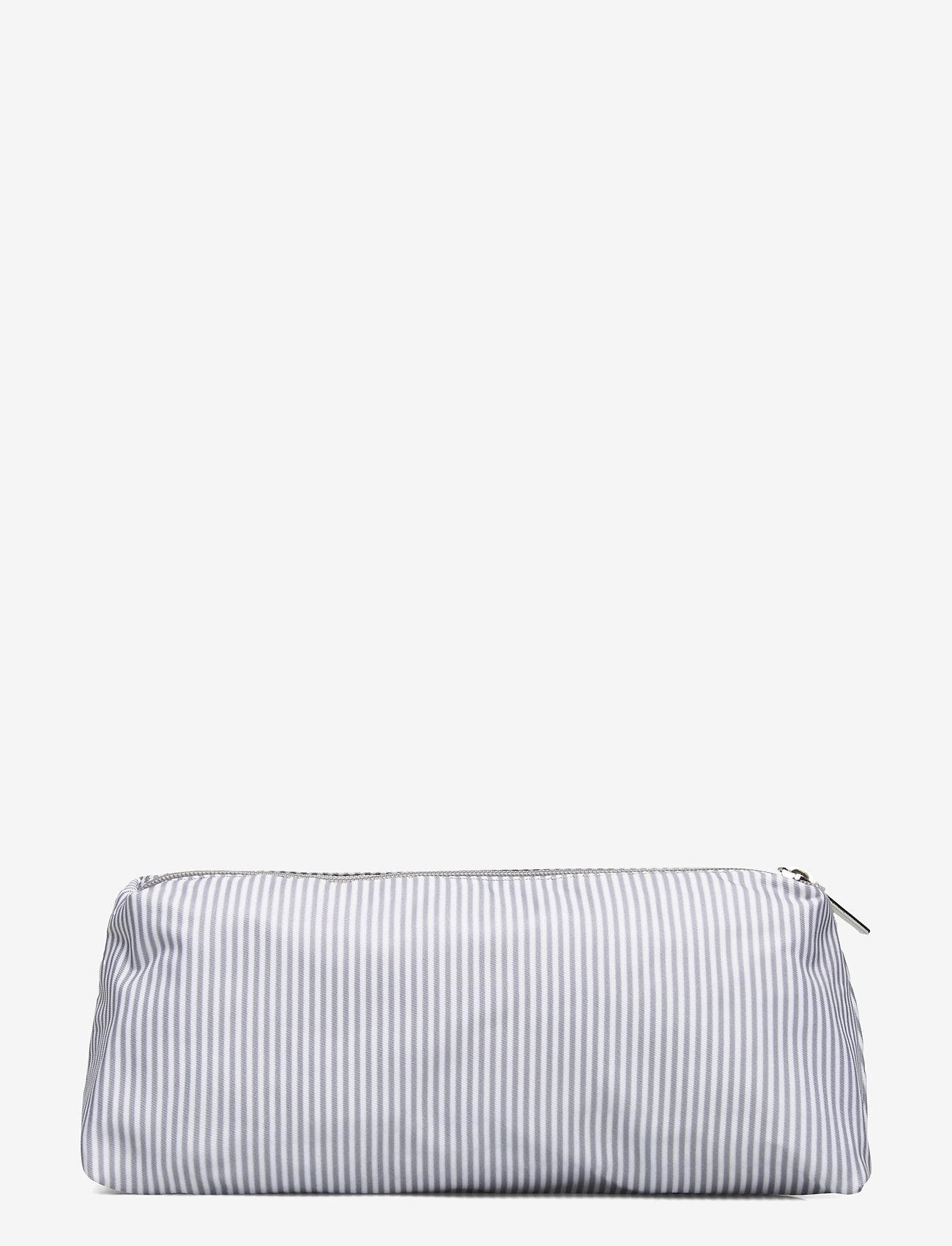 Lexington Home - Icons Small Toilet Bag - meikkilaukut - gray/white stripe - 1