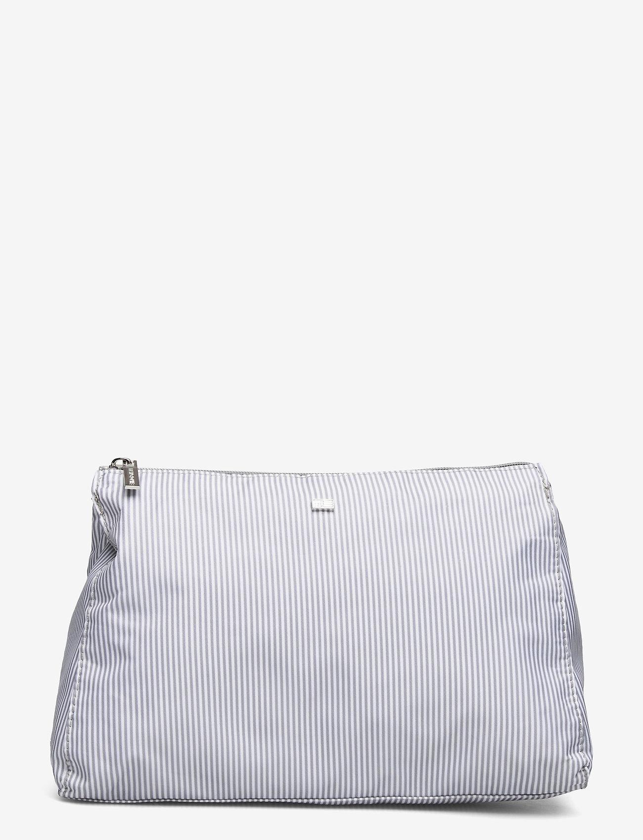 Lexington Home - Icons Big Toilet Bag - meikkilaukut - gray/white stripe - 0