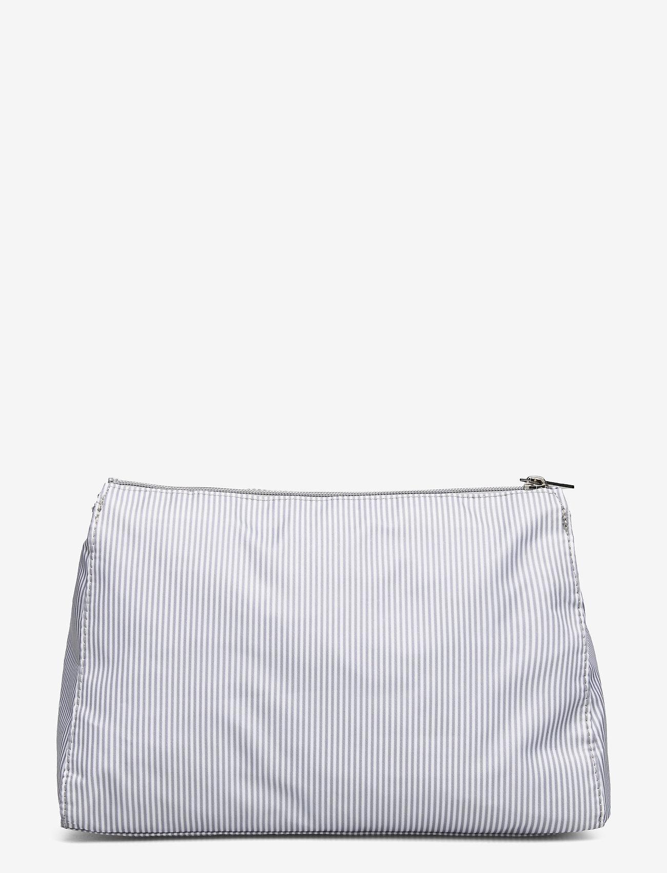 Lexington Home - Icons Big Toilet Bag - meikkilaukut - gray/white stripe - 1