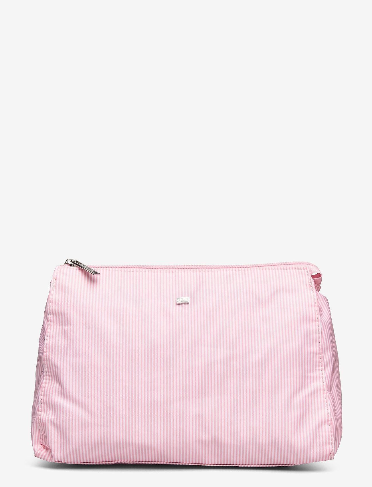 Lexington Home - Icons Big Toilet Bag - meikkilaukut - pink/white stripe - 0