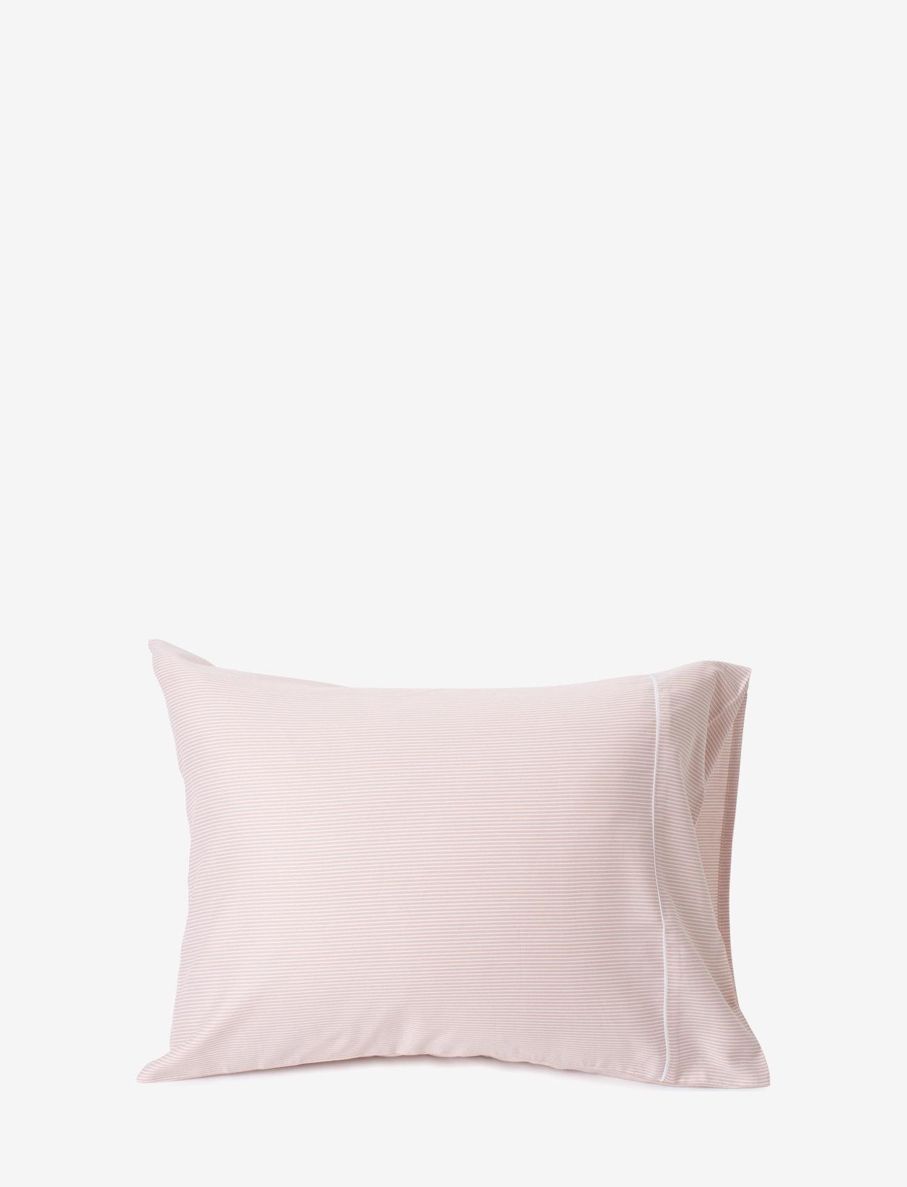Lexington Home - Pink/White Striped Tencel/Cotton Pillowcase - tyynyliinat - pink/white - 0
