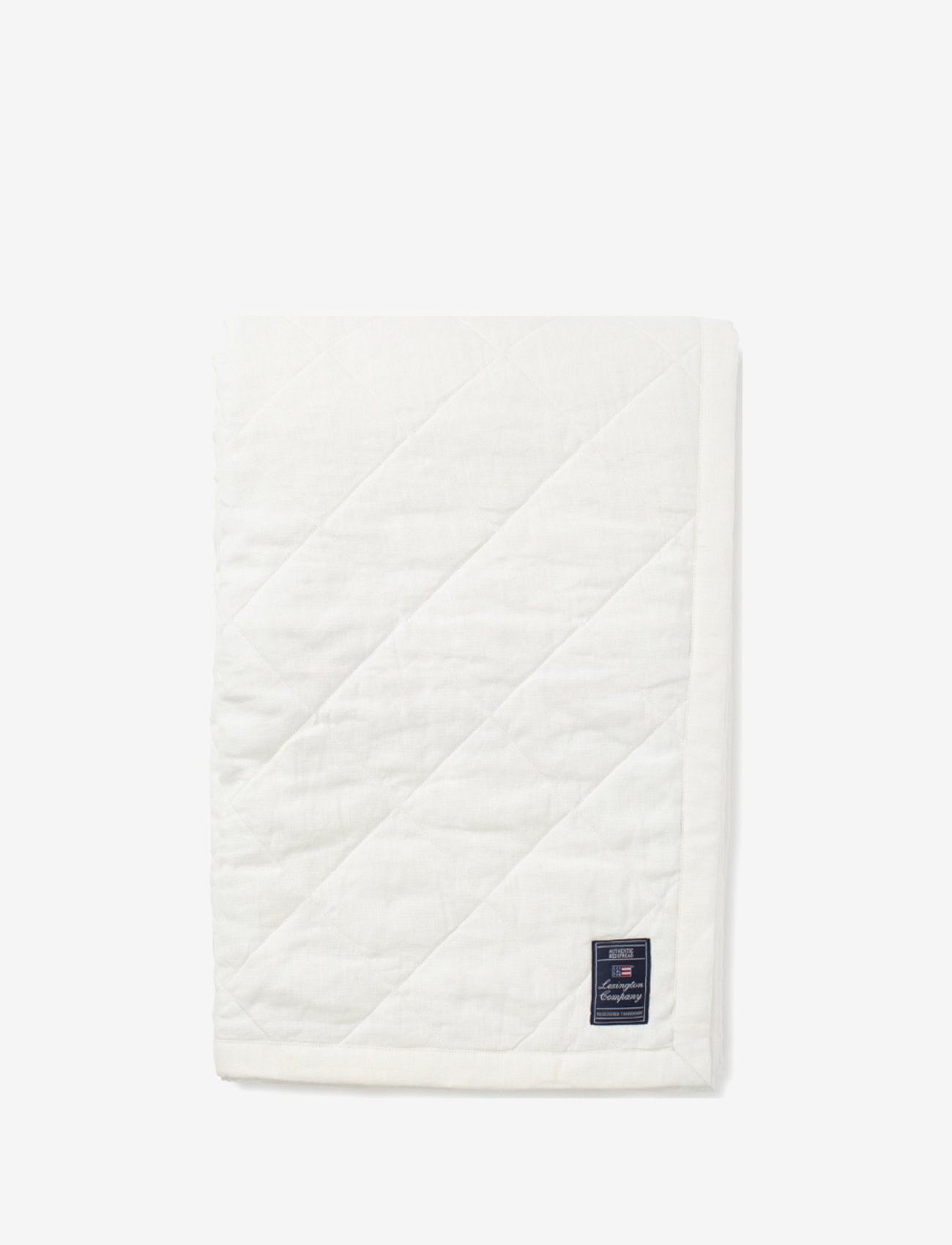 Lexington Home - Quilted Linen/Viscose Bedspread - blankets - off white - 0
