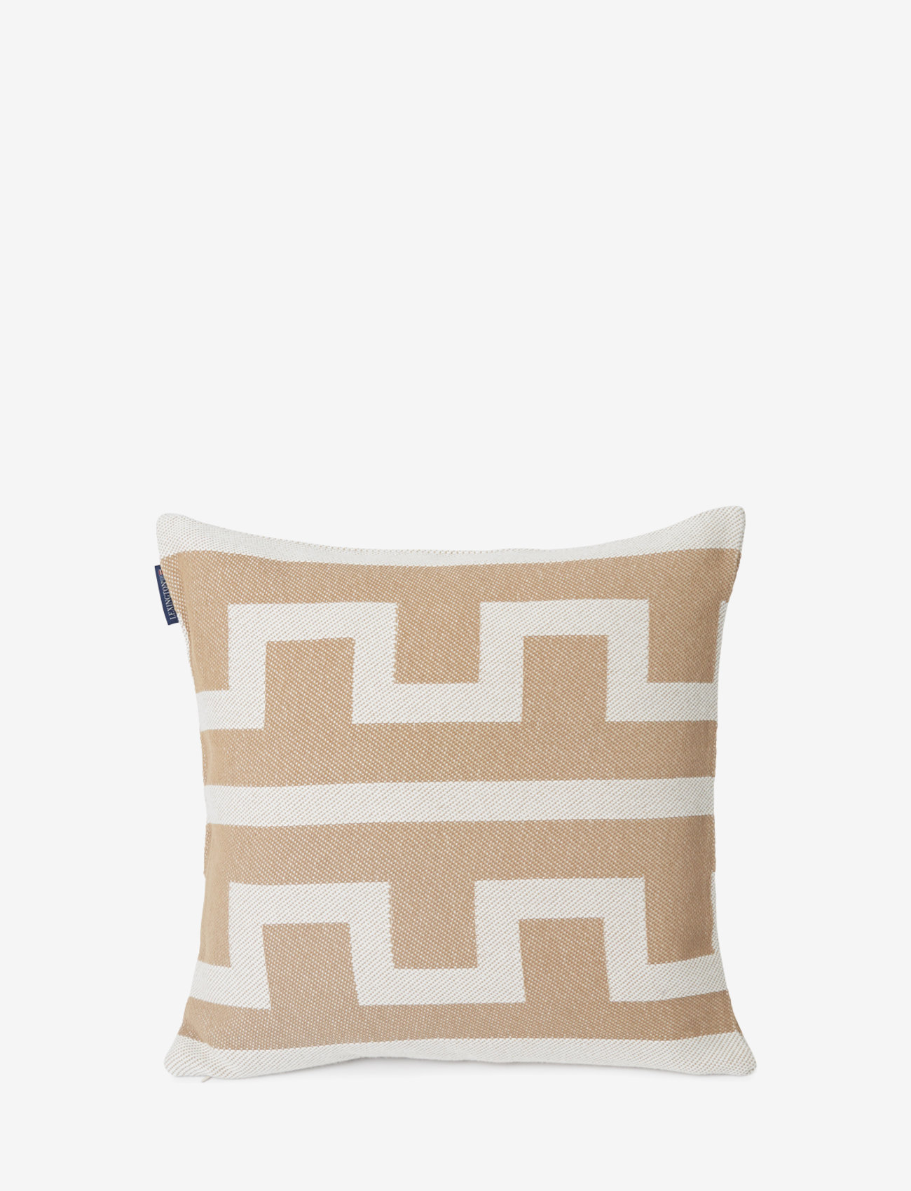 Lexington Home - Graphic Recycled Cotton Pillow Cover - housses de coussins - off white/beige - 0