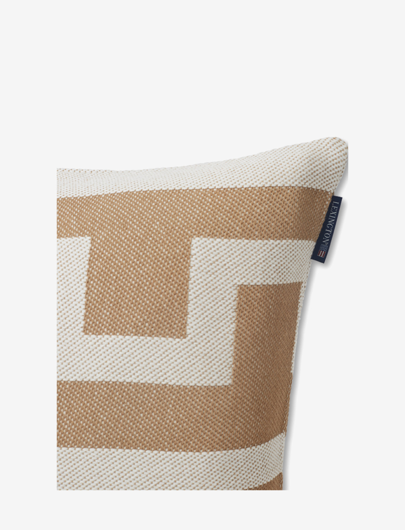 Lexington Home - Graphic Recycled Cotton Pillow Cover - tyynyliinat - off white/beige - 1