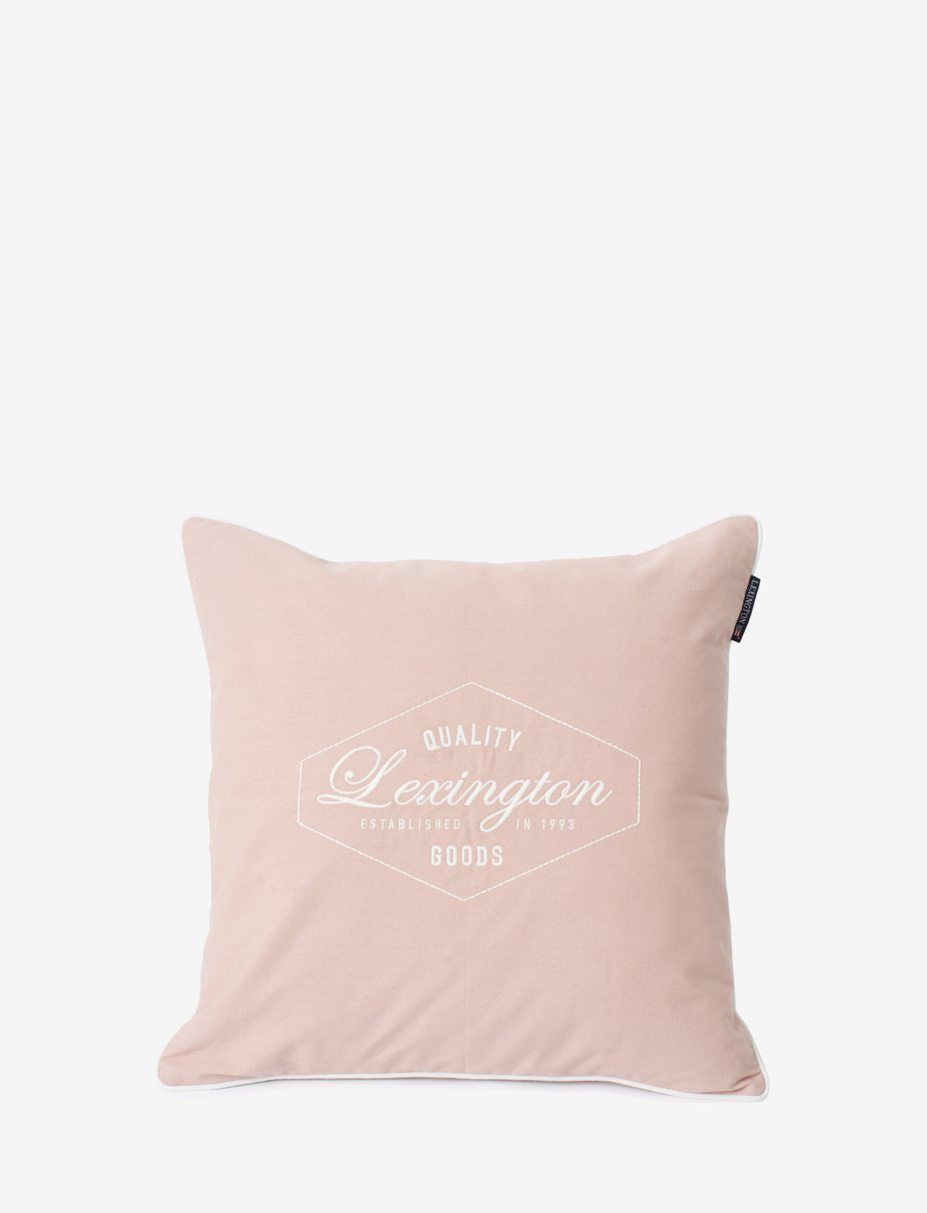 Lexington Home - Quality Goods Cotton Canvas Pillow Cover - tyynyliinat - pink - 0