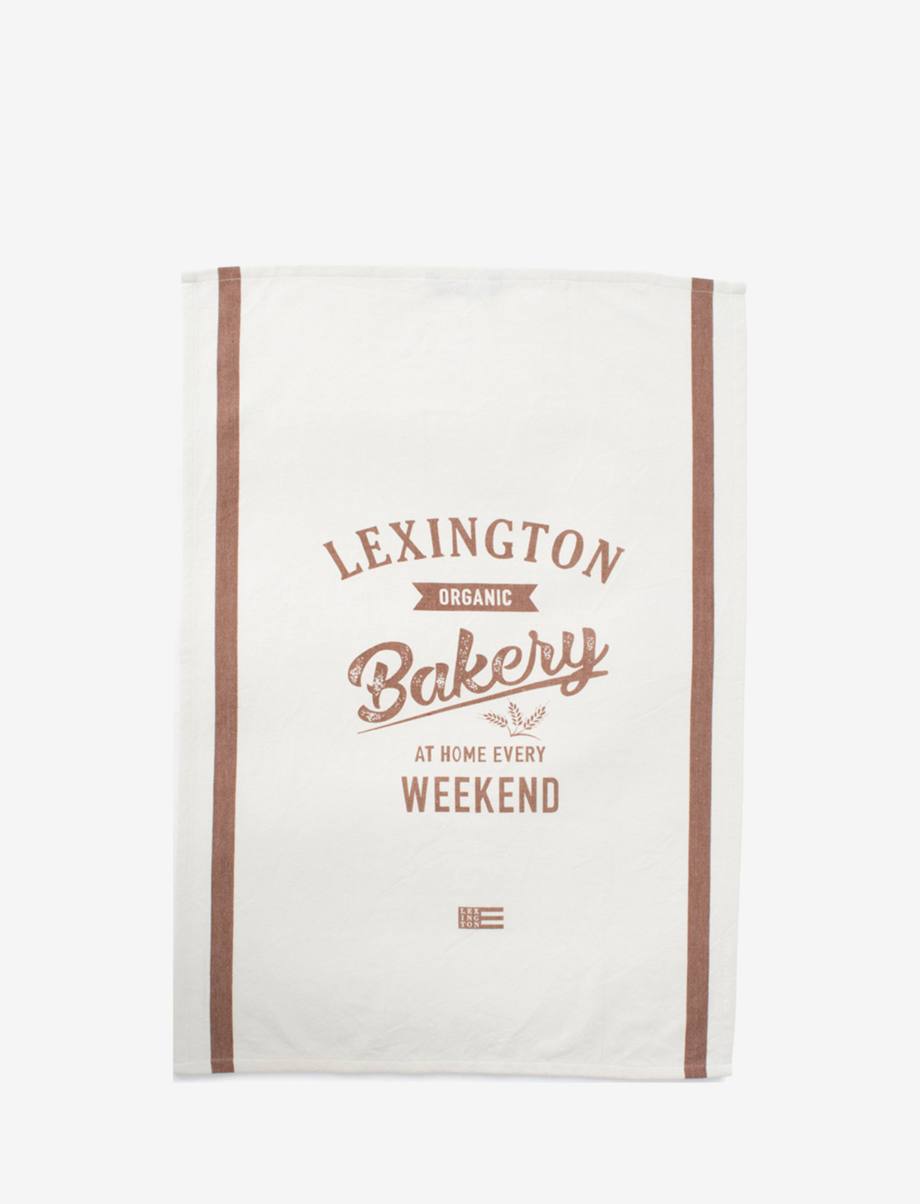 Lexington Home - Printed Cotton Twill Kitchen Towel - torchons - off white/brown - 0