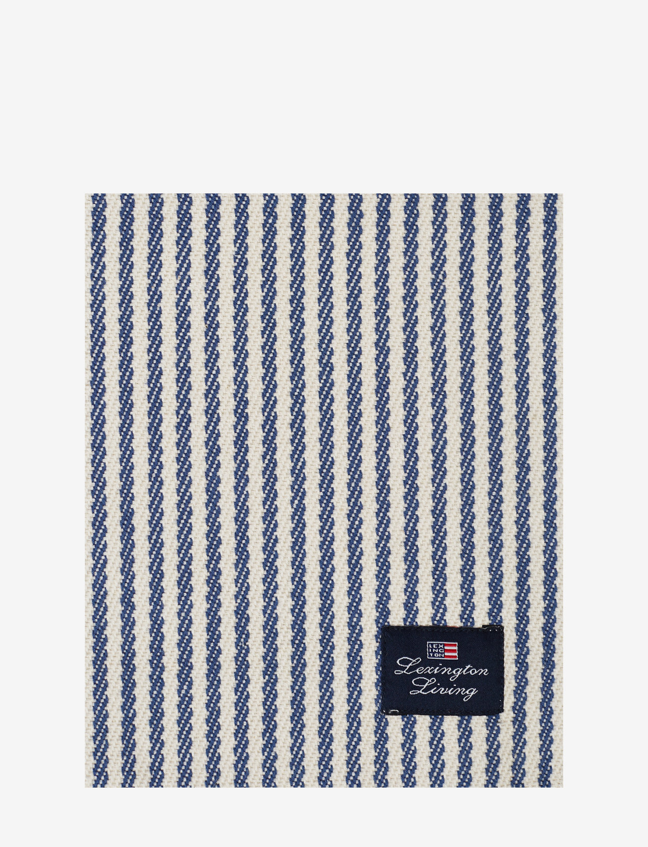 Lexington Home - Striped Recycled Cotton Rips Runner - nappes et chemins de table - blue/white - 1