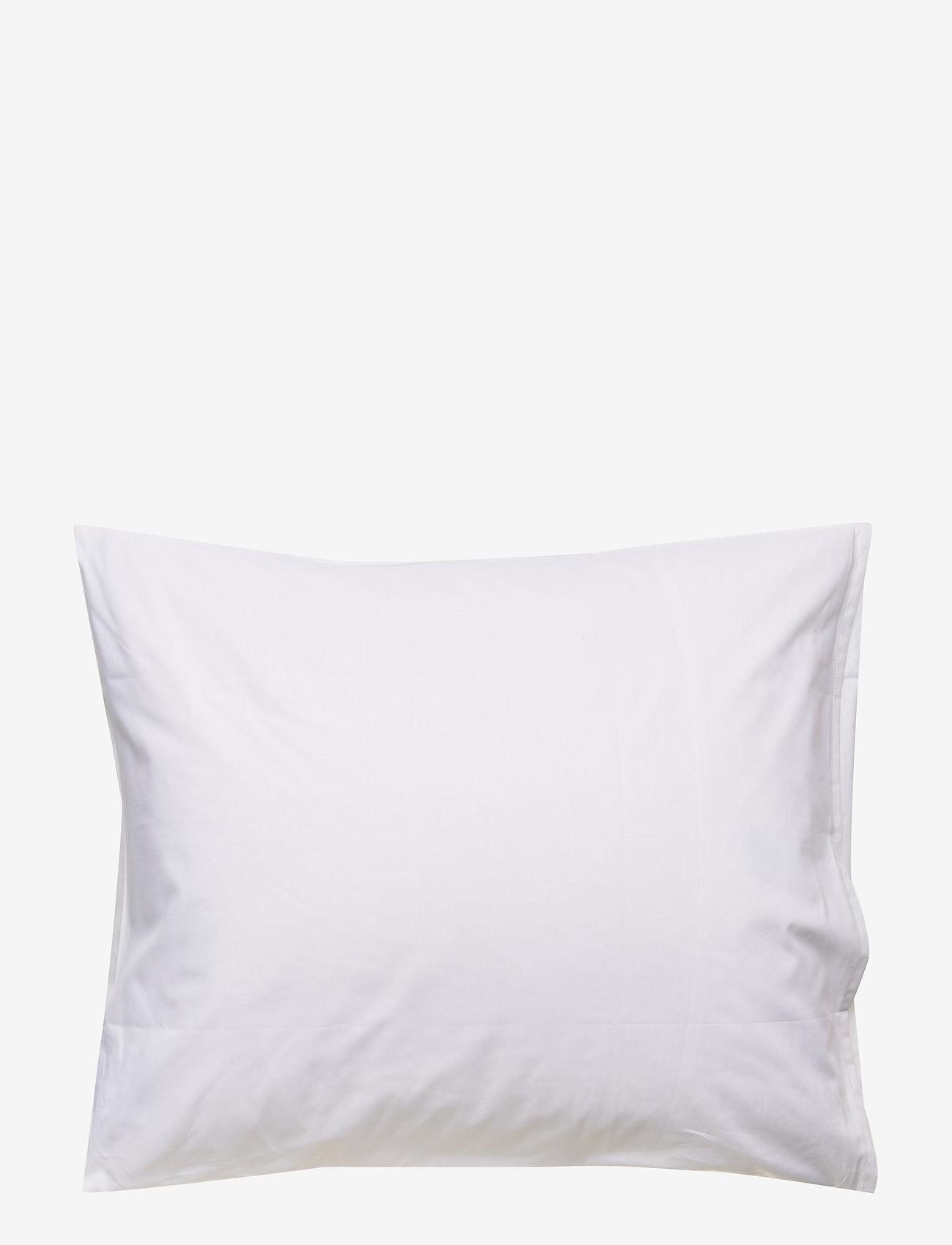 Printed Cotton Poplin Pillowcase (White) (49 €) - Lexington Home UejHcxjt