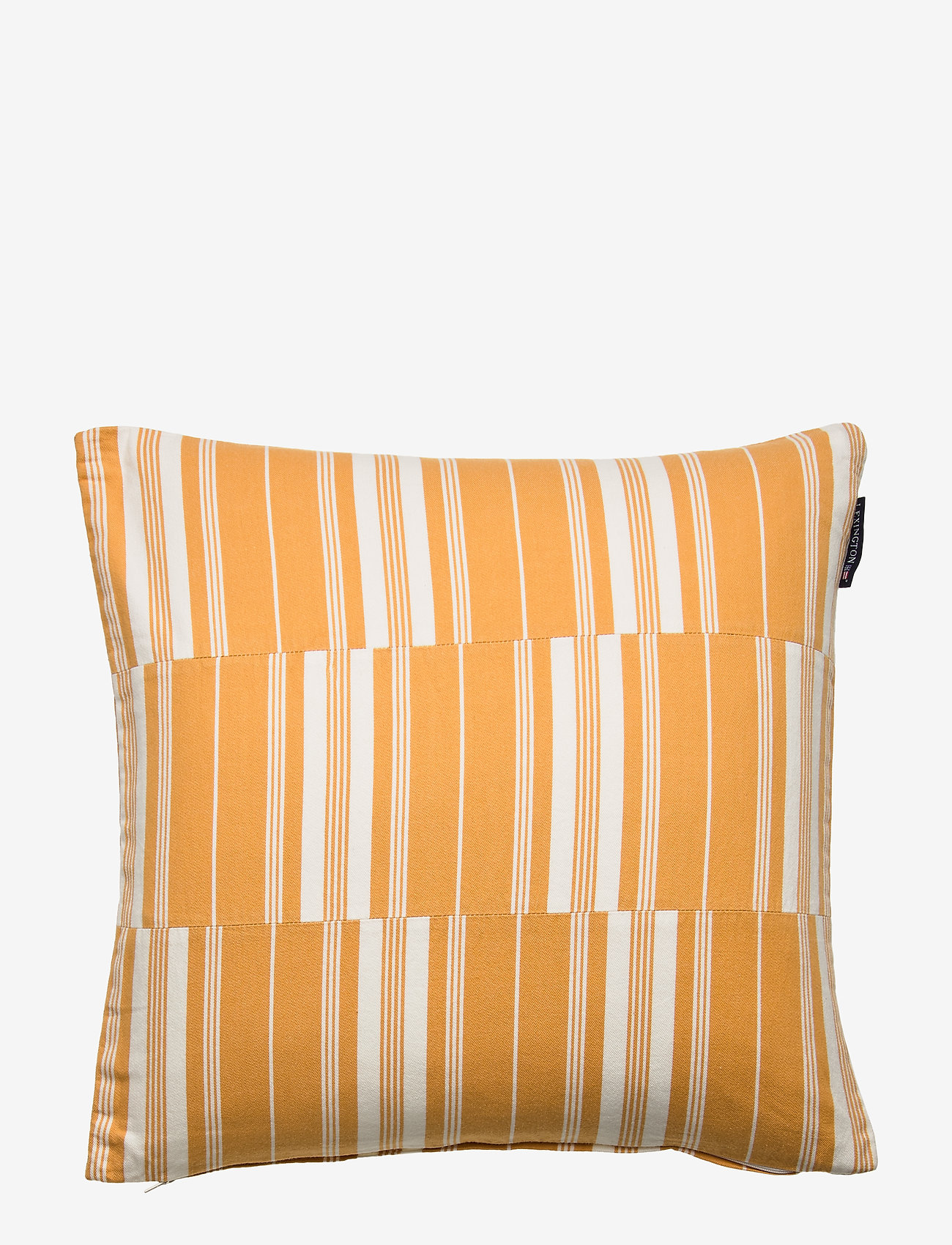 Lexington Home - Cut and Sewn Cotton Pillow Cover - tyynyliinat - yellow/white - 0