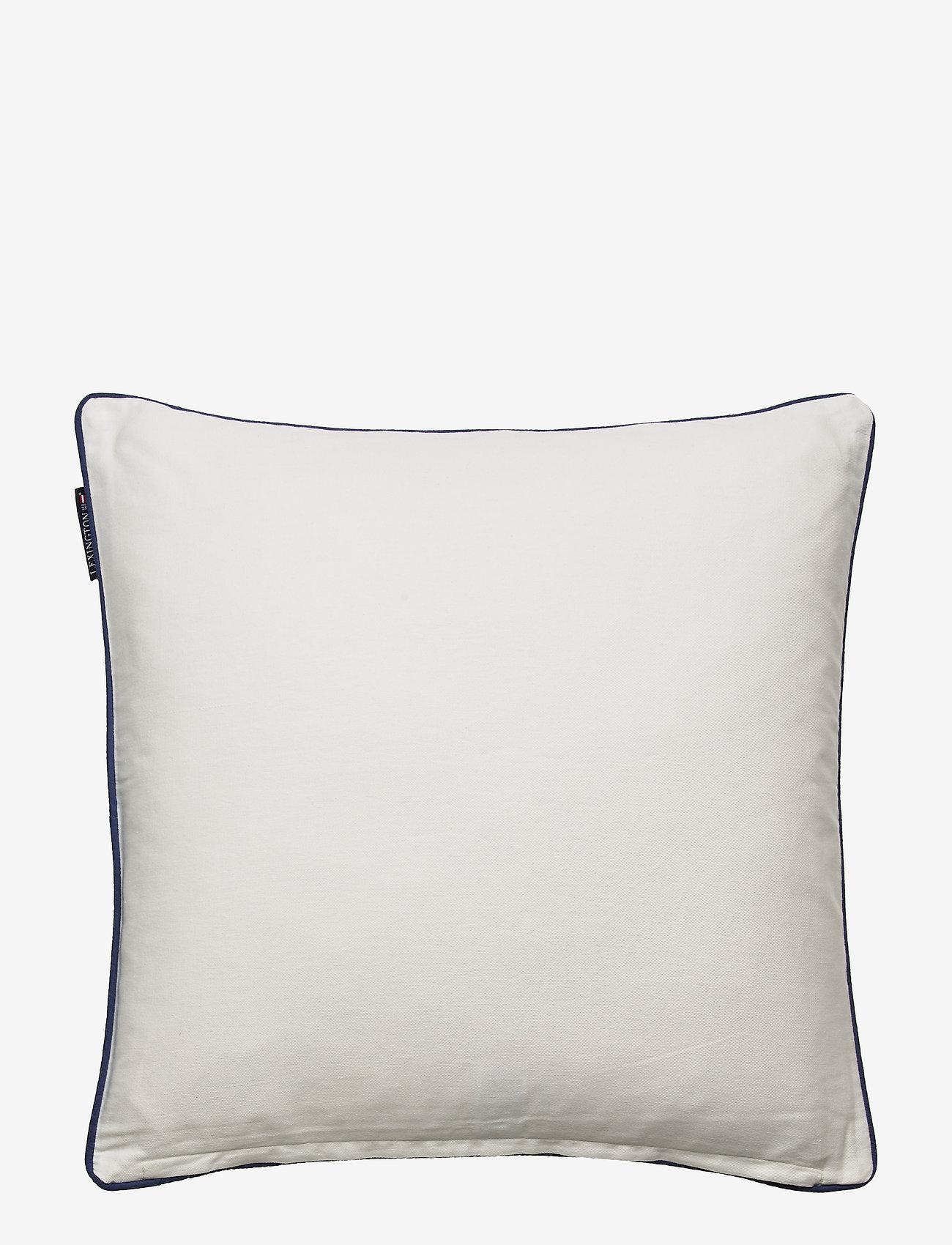 Gone To The Beach Cotton Pillow Cover (White) (69 €) - Lexington Home 7niX69kZ