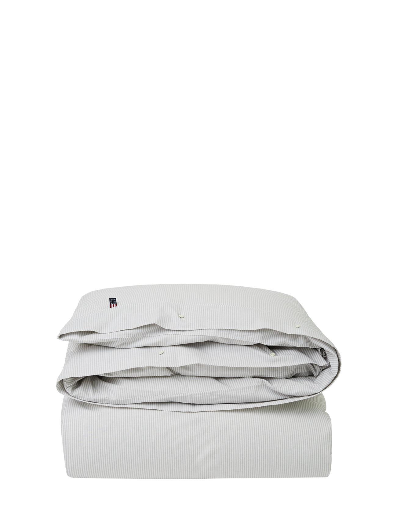 Lexington Home Pin Point Beige/White Duvet - BEIGE/WHITE