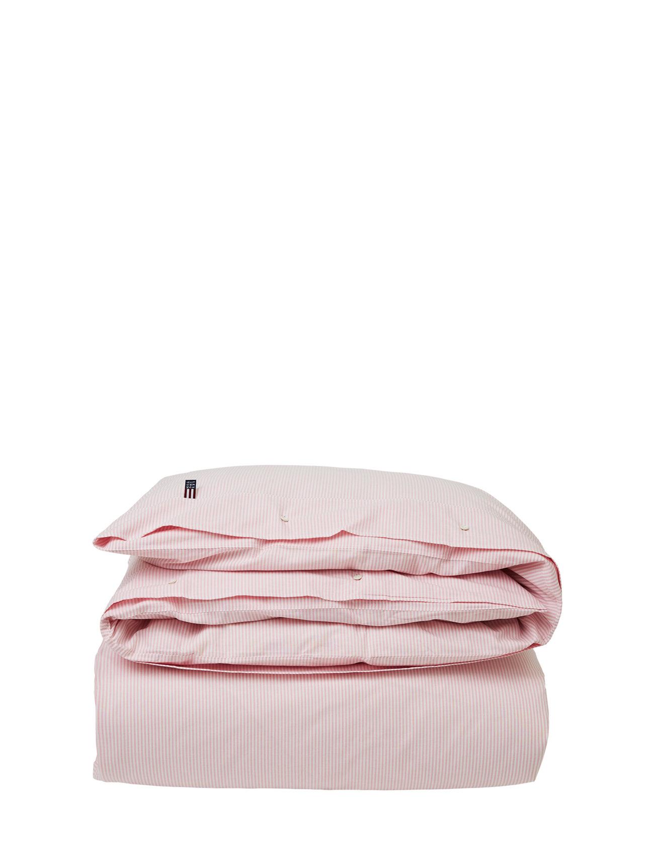 Lexington Home Pin Point Pink/White Duvet - PINK/WHITE