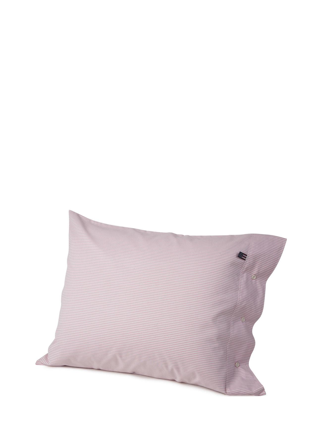 Lexington Home Pin Point Pink/White Pillowcase - PINK/WHITE