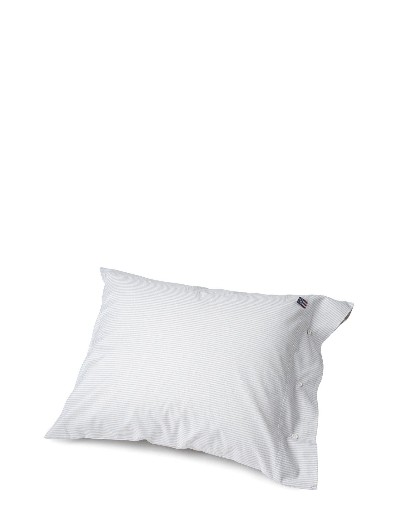 Lexington Home Pin Point Gray/White Pillowcase - GRAY/WHITE