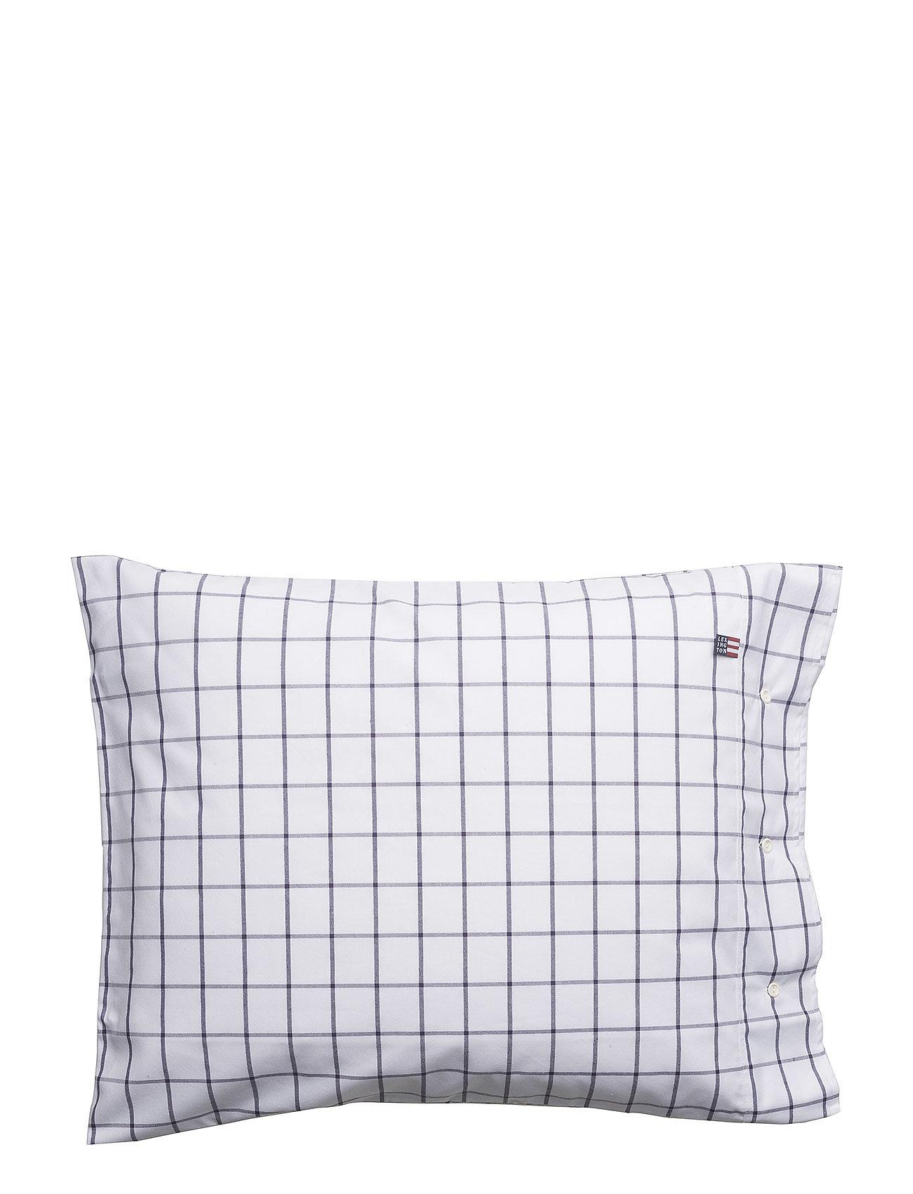 Lexington Home Pin Point Shaker Navy Pillowcase - NAVY/WHITE