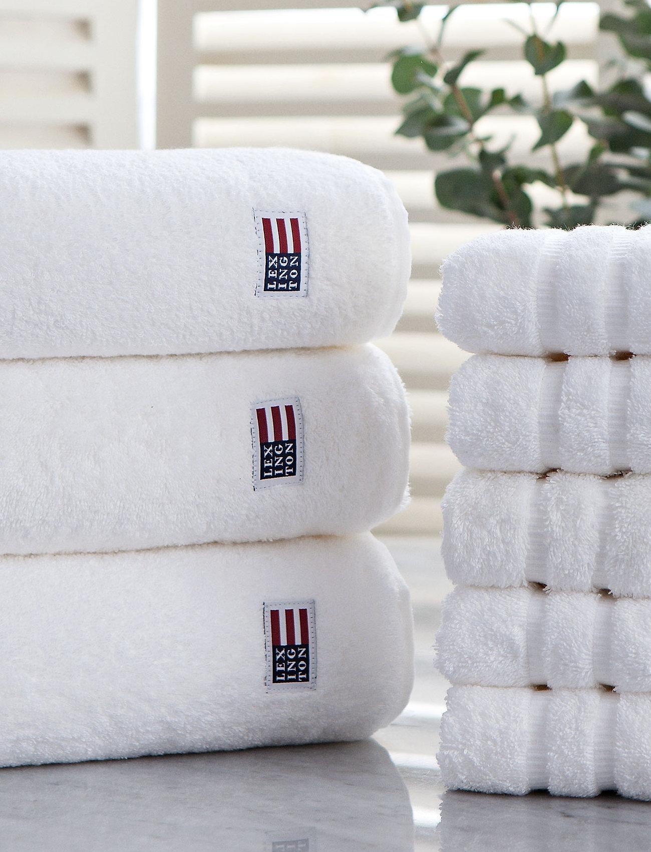 Lexington Home - Original Towel White - pyyhkeet & kylpypyyhkeet - white - 1