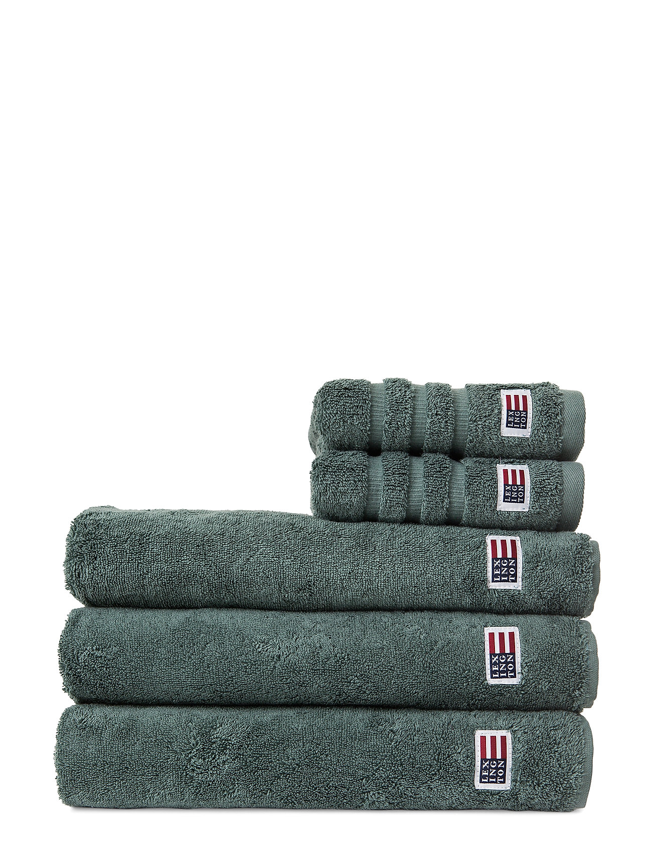 Lexington Home Original Towel Balsam grön Badrum