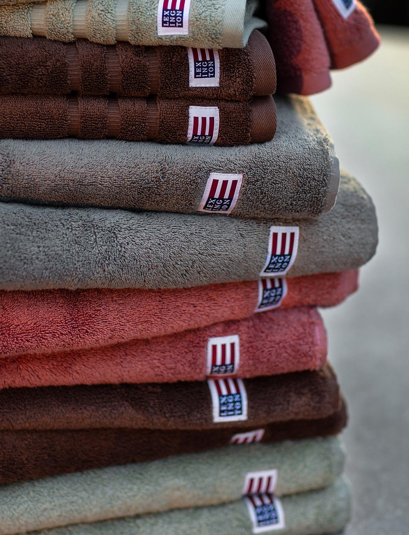 Lexington Home - Original Towel Hazel Brown - ręczniki kąpielowe - hazel brown - 1
