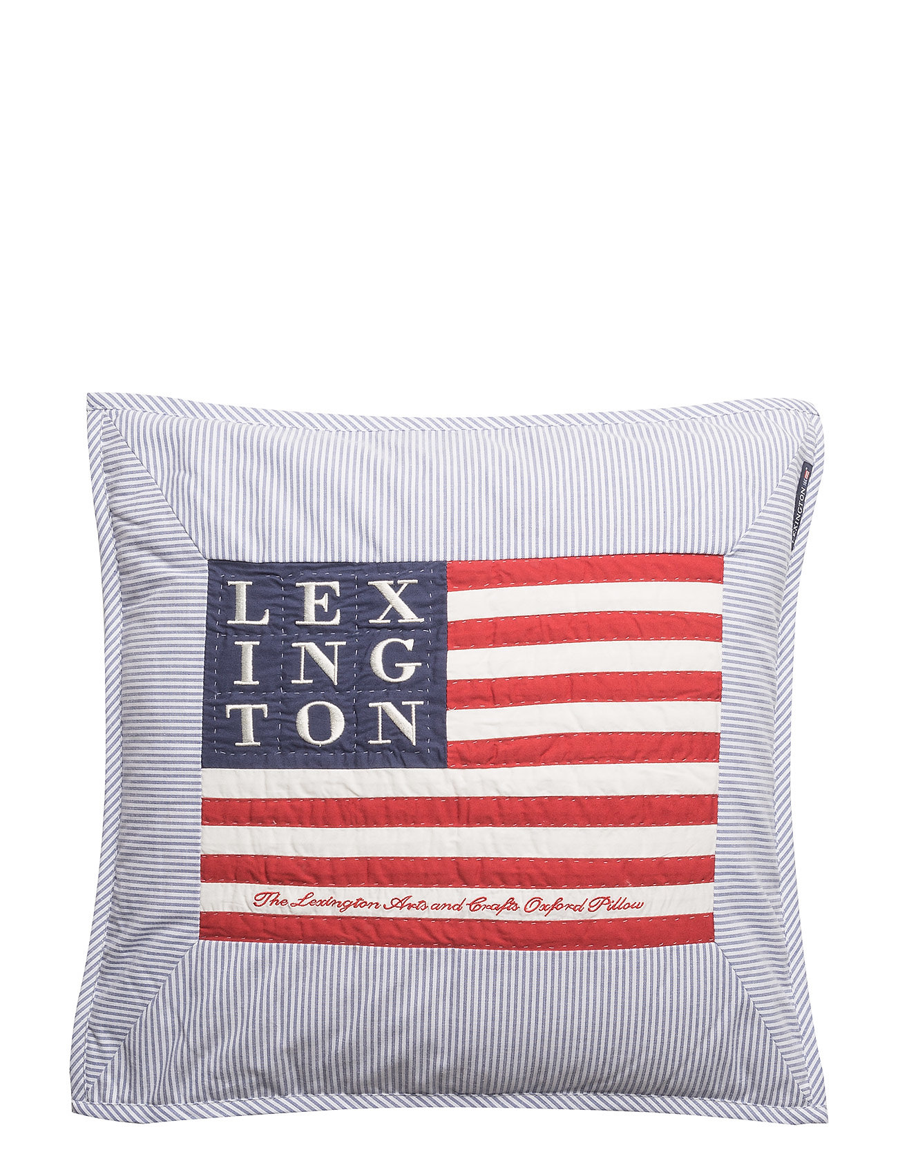 Lexington Home Logo Art & Crafts Sham - BLUE/WHITE