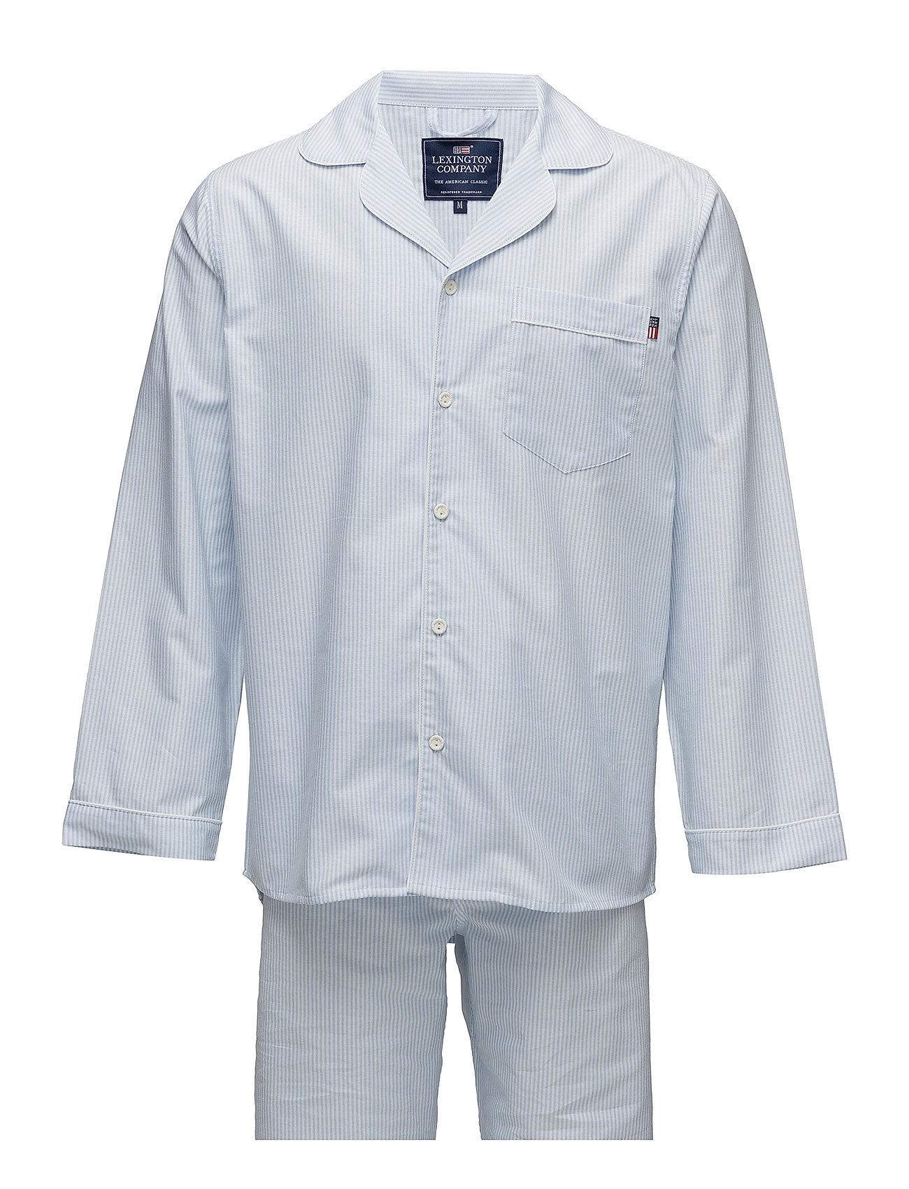 Lexington Home American Authentic Pajama - LT BLUE/WHITE