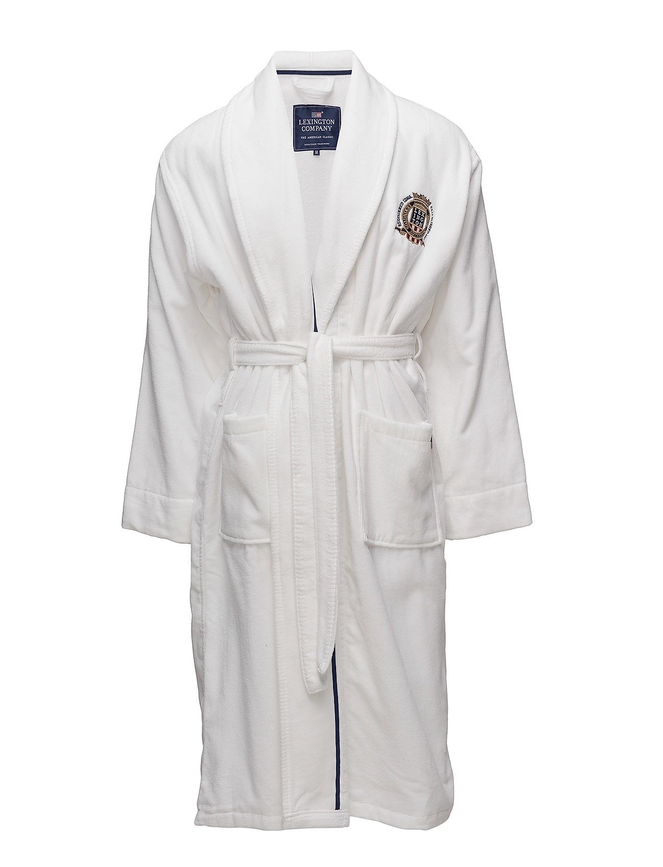 Lexington Home Lexington Velour Robe - WHITE