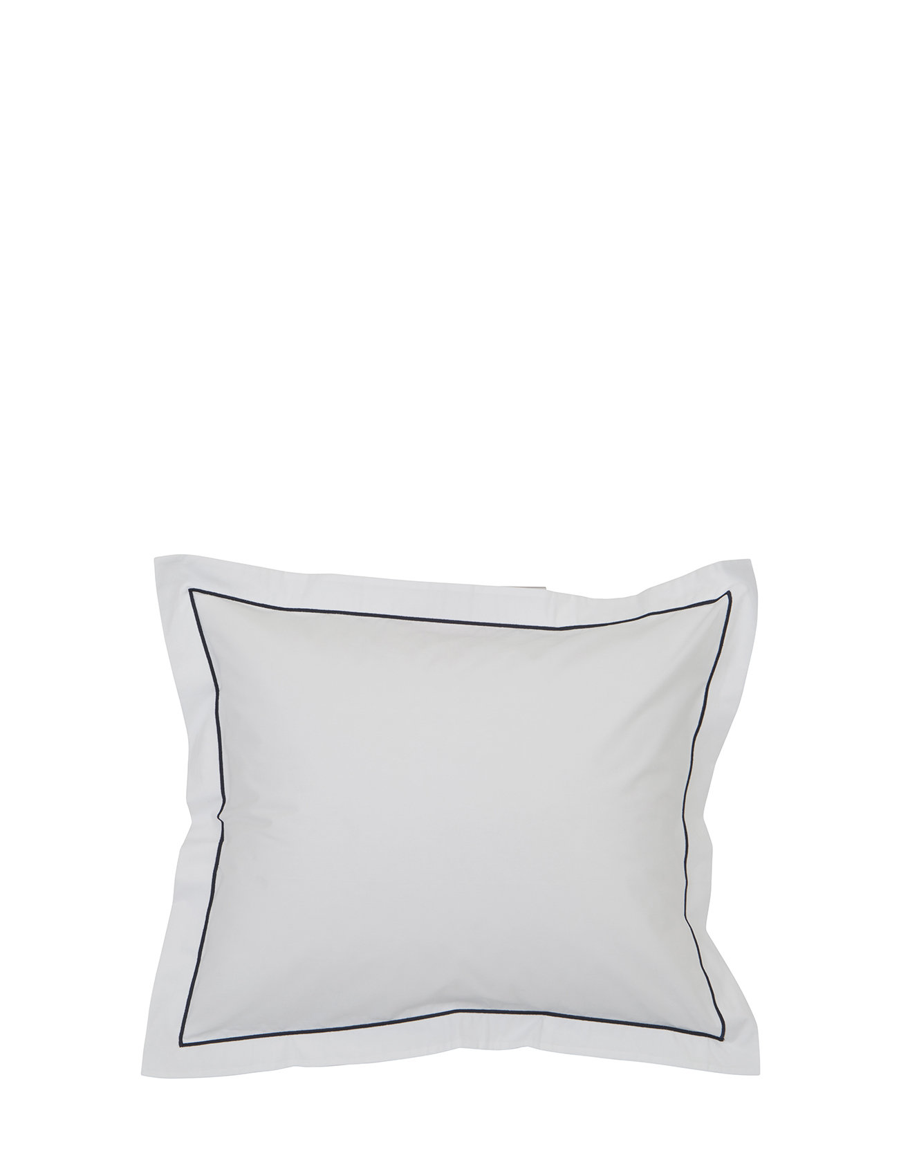 Lexington Home Hotel Percale White/Blue Pillowcase - WHITE/BLUE