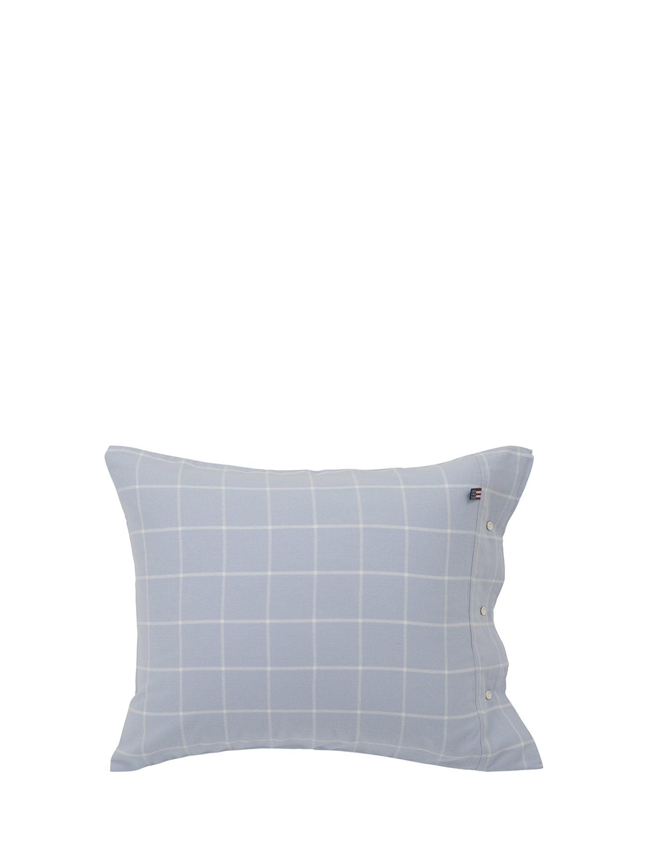 Lexington Home Hotel Light Flannel Lt Blue/White Pillowcase - LT BLUE/WHITE