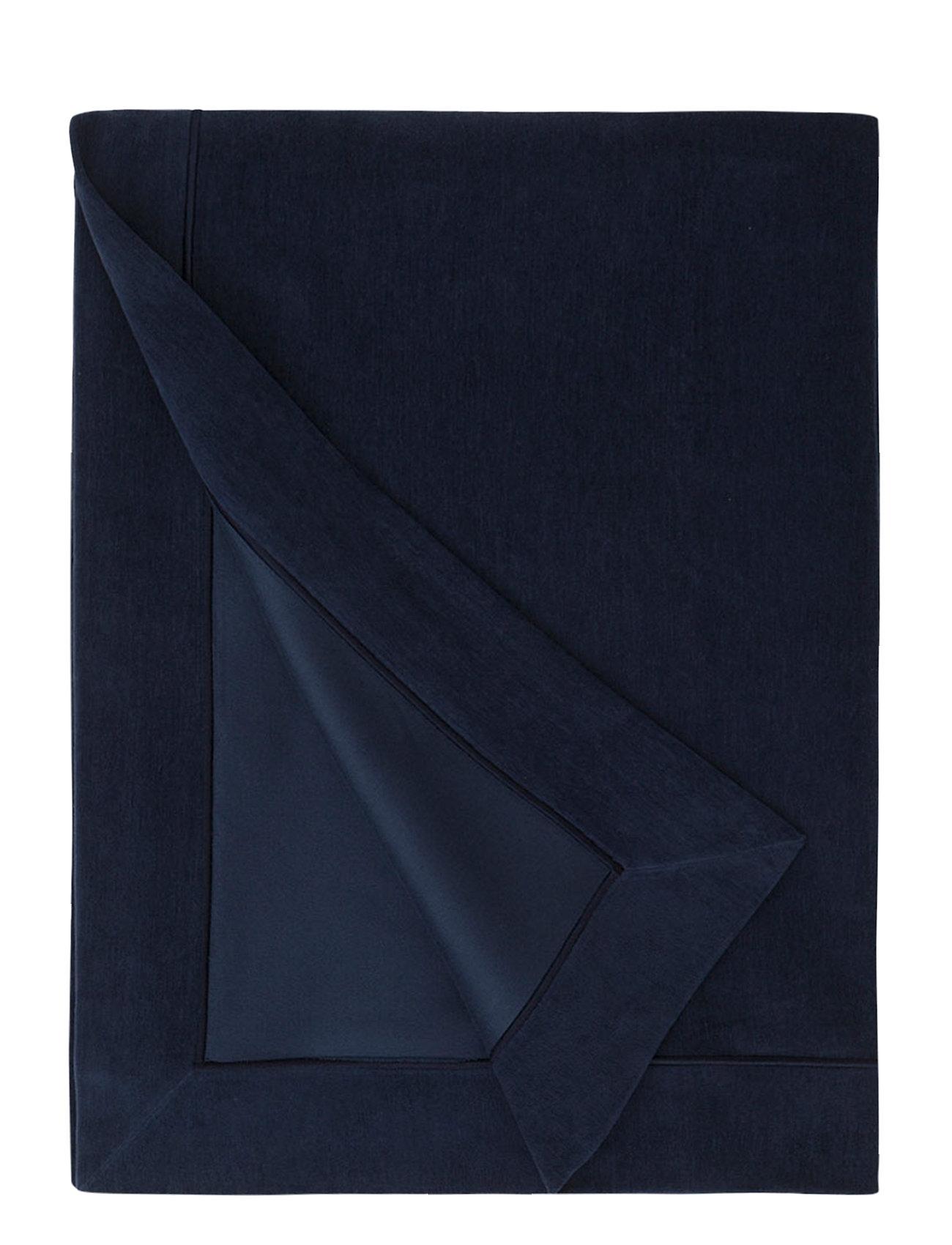 Lexington Home Hotel Velvet Bedspread - DK. BLUE