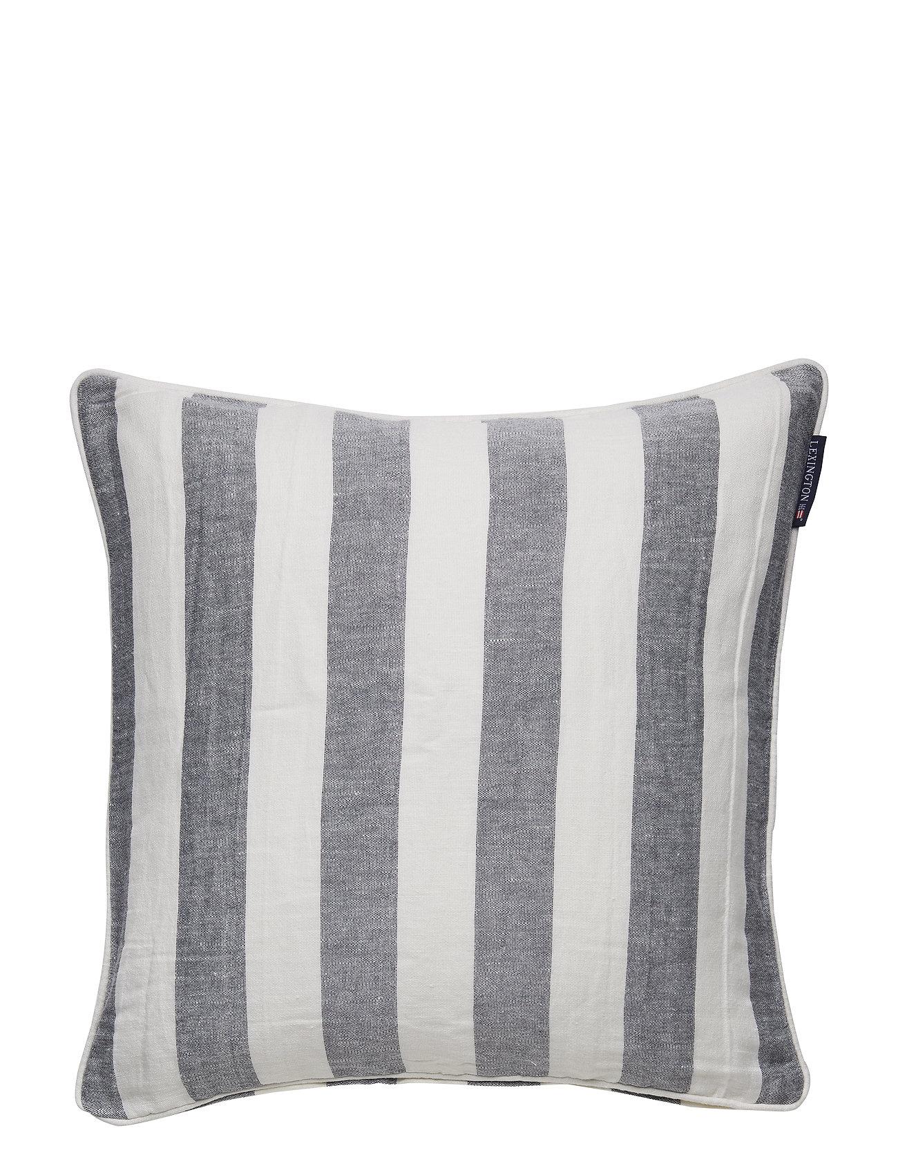 Lexington Home Viscose/Linen Striped Sham - BLUE/WHITE
