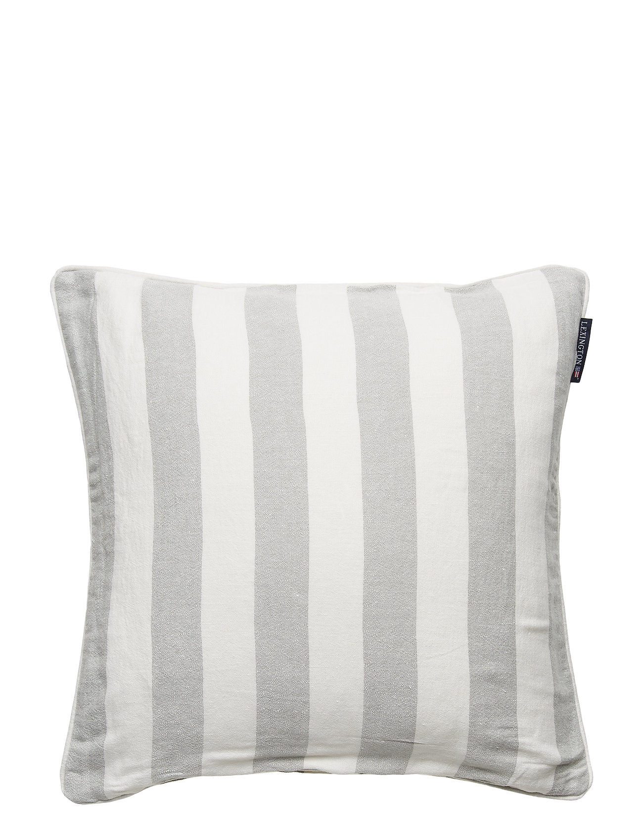 Lexington Home Viscose/Linen Striped Sham - GREEN/WHITE