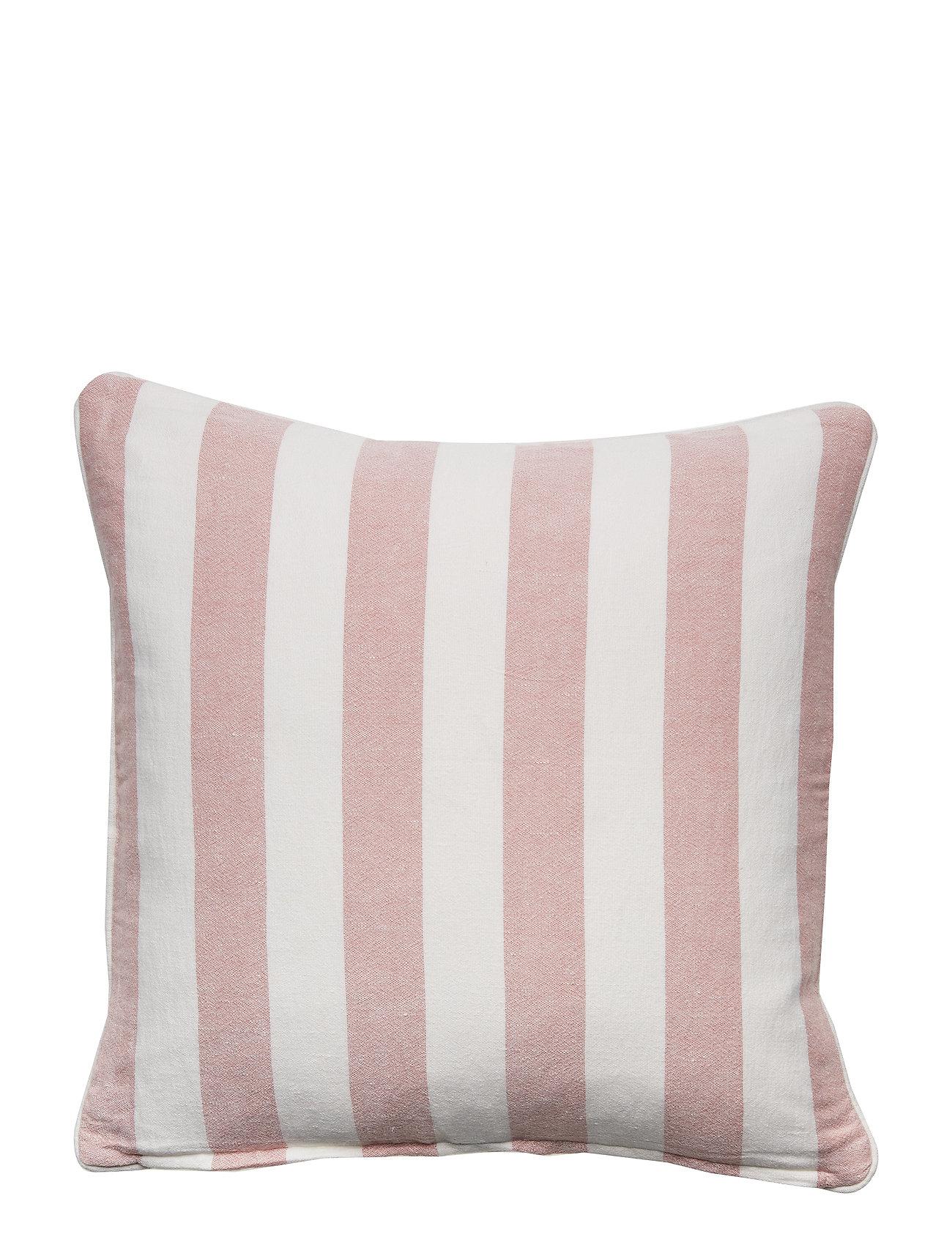 Lexington Home Viscose/Linen Striped Sham - PINK/WHITE