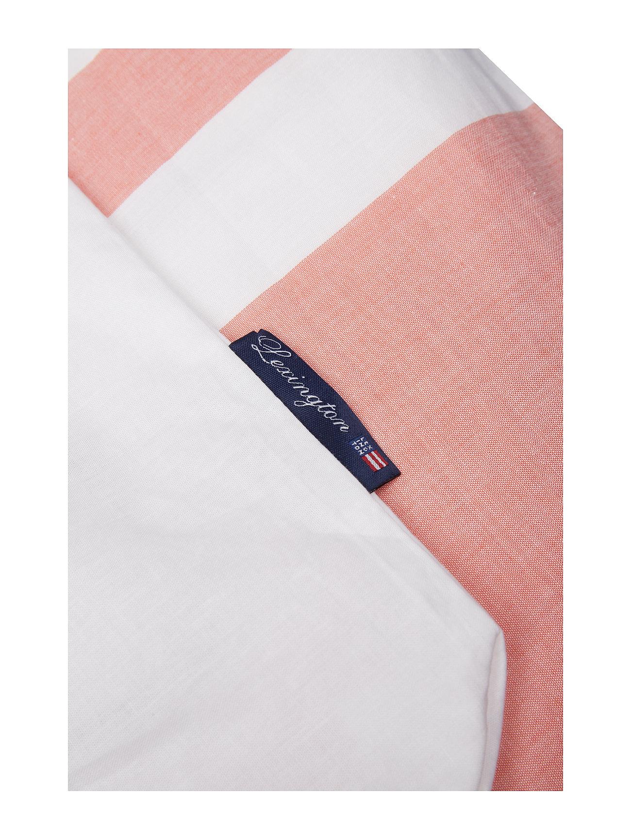 Lexington Home - Apricot Horizontal Striped Poplin Set - pussilakana - white/apricot - 1