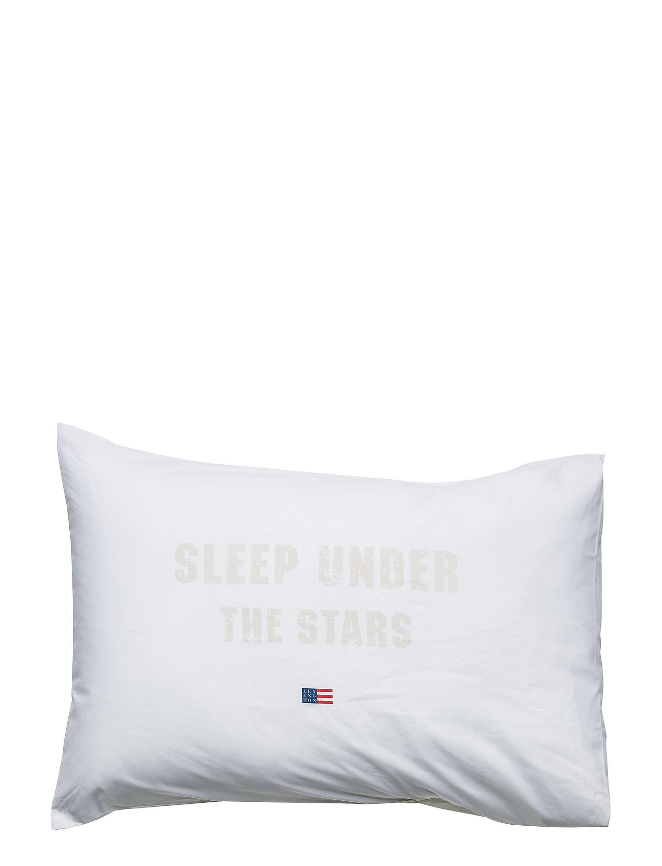 Lexington Home Printed Pillowcase - WHITE