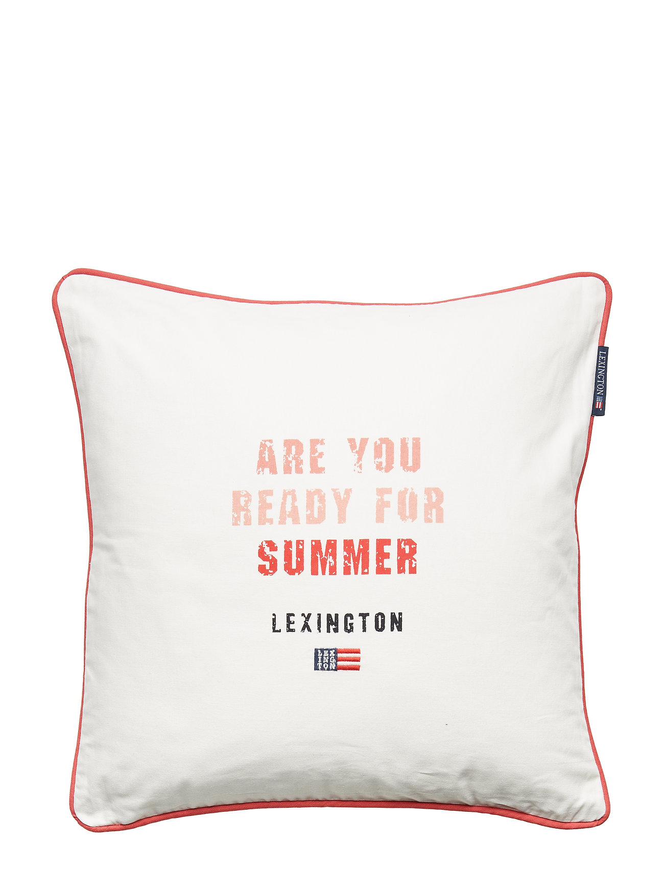 Lexington Home Are You Ready for Summer Sham - WHITE MULTI