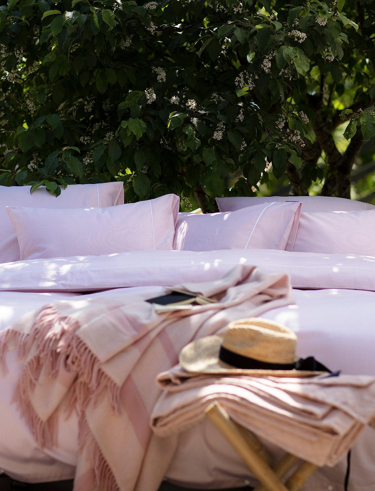 Lexington Home - Pink/White Striped Tencel/Cotton Duvet  Cover - housses de couette - pink/white - 0