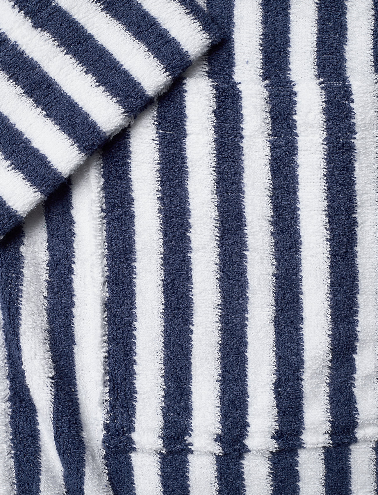 Lexington Home Striped Cotton-Mix Terry Robe - Nattøy & loungeklær BLUE/WHITE - Menn Klær