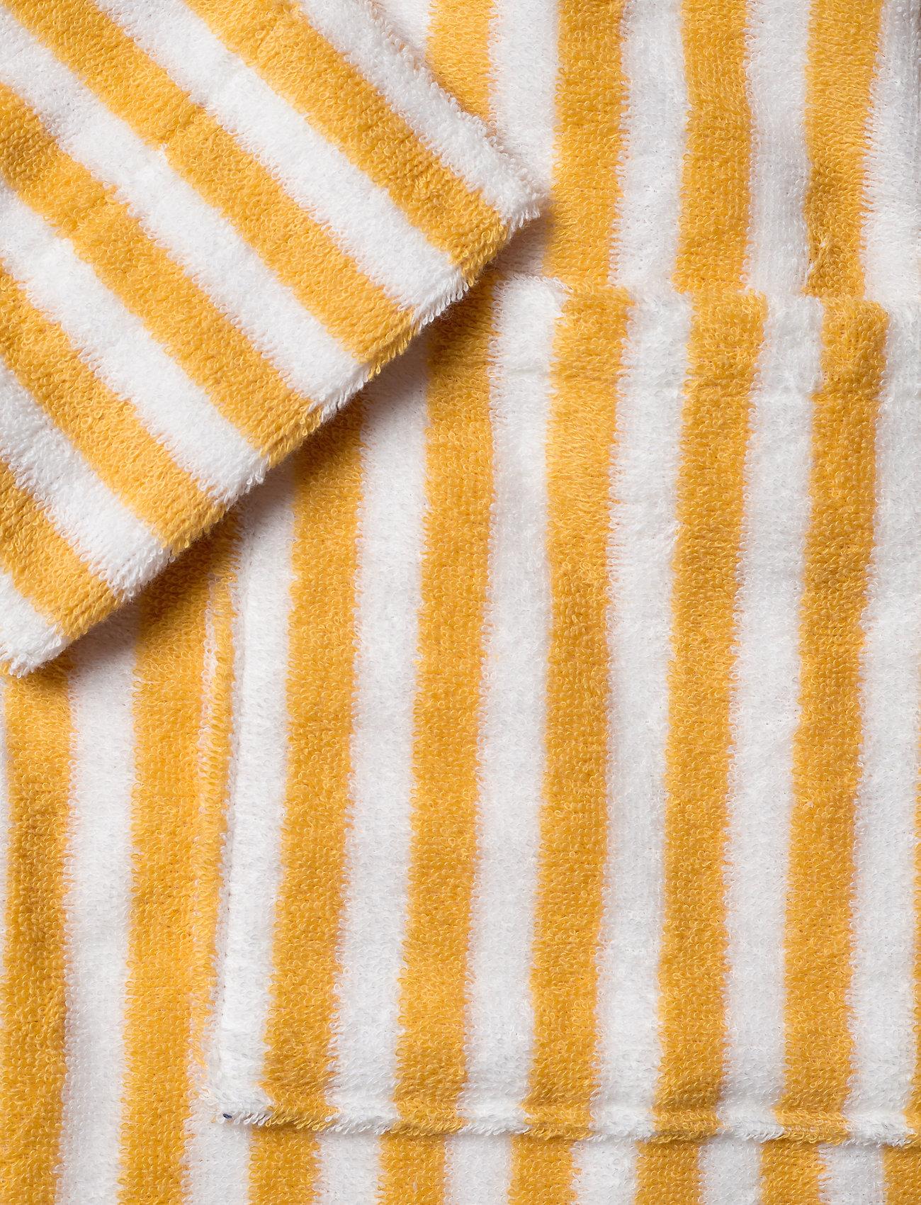 Lexington Home Striped Cotton-Mix Terry Robe - Nattøy & loungeklær YELLOW/WHITE - Menn Klær