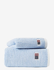 Lexington Home - Original Towel White/Blue Striped - ręczniki kąpielowe - white/blue - 0