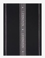Lexington Home - Icons Cotton Jacquard Star Kitchen Towel - keittiöpyyhkeet - black/white - 0