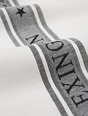 Lexington Home - Icons Cotton Jacquard Star Kitchen Towel - keittiöpyyhkeet - white/black - 1