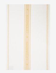 Lexington Home - Icons Cotton Jacquard Star Kitchen Towel - keittiöpyyhkeet - white/yellow - 0