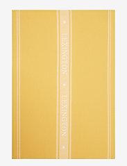 Lexington Home - Icons Cotton Jacquard Star Kitchen Towel - keittiöpyyhkeet - yellow/white - 0