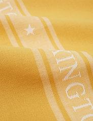 Lexington Home - Icons Cotton Jacquard Star Kitchen Towel - keittiöpyyhkeet - yellow/white - 1