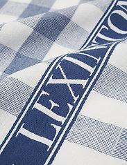 Lexington Home - Icons Checked Cotton Terry Kitchen Towel - ręczniki kuchenne - blue/white - 1