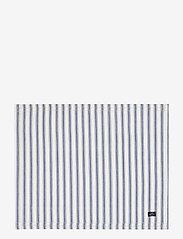 Lexington Home - Icons Cotton Herringbone Striped Placemat - pöytätabletit & lasinaluset - blue/white - 0