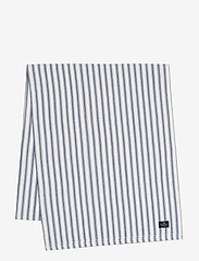 Lexington Home - Icons Cotton Herringbone Striped Runner - kankaiset lautasliinat - blue/white - 0