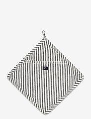 Lexington Home - Icons Cotton Herringbone Striped Potholder - pannulaput ja patakintaat - black/white - 0